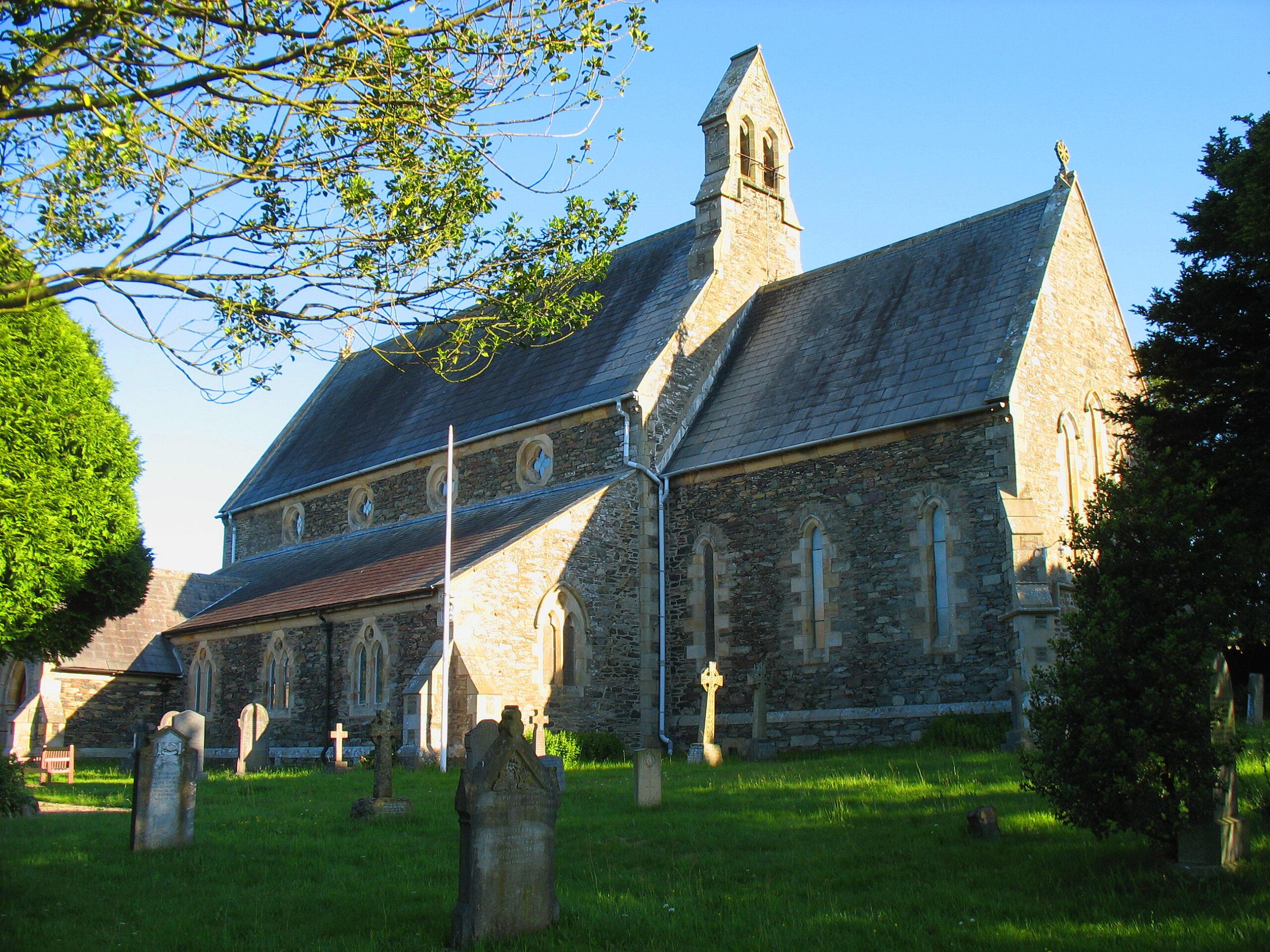 St. Annes Church and churchyard