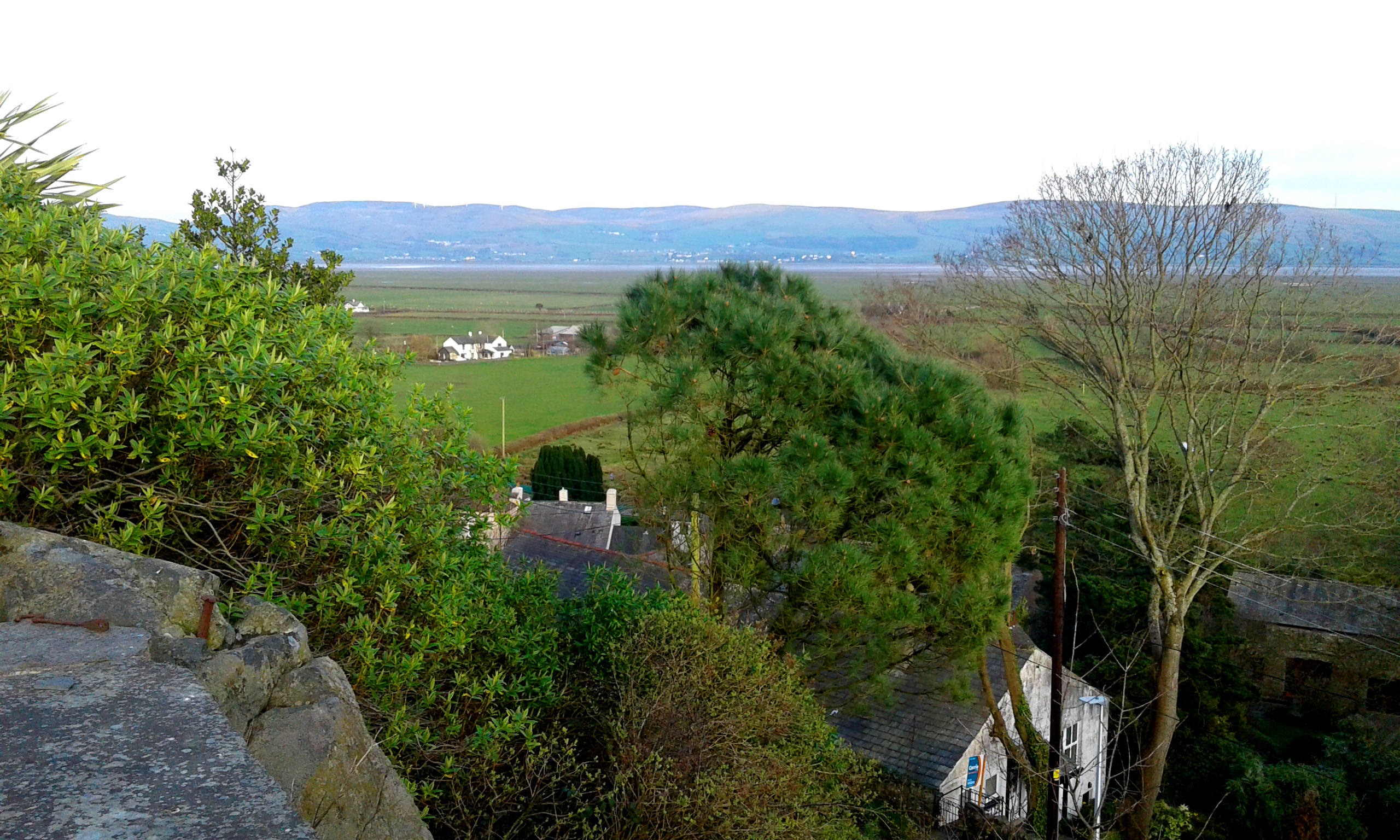 Looking across Underhill to the Duddon Estuary