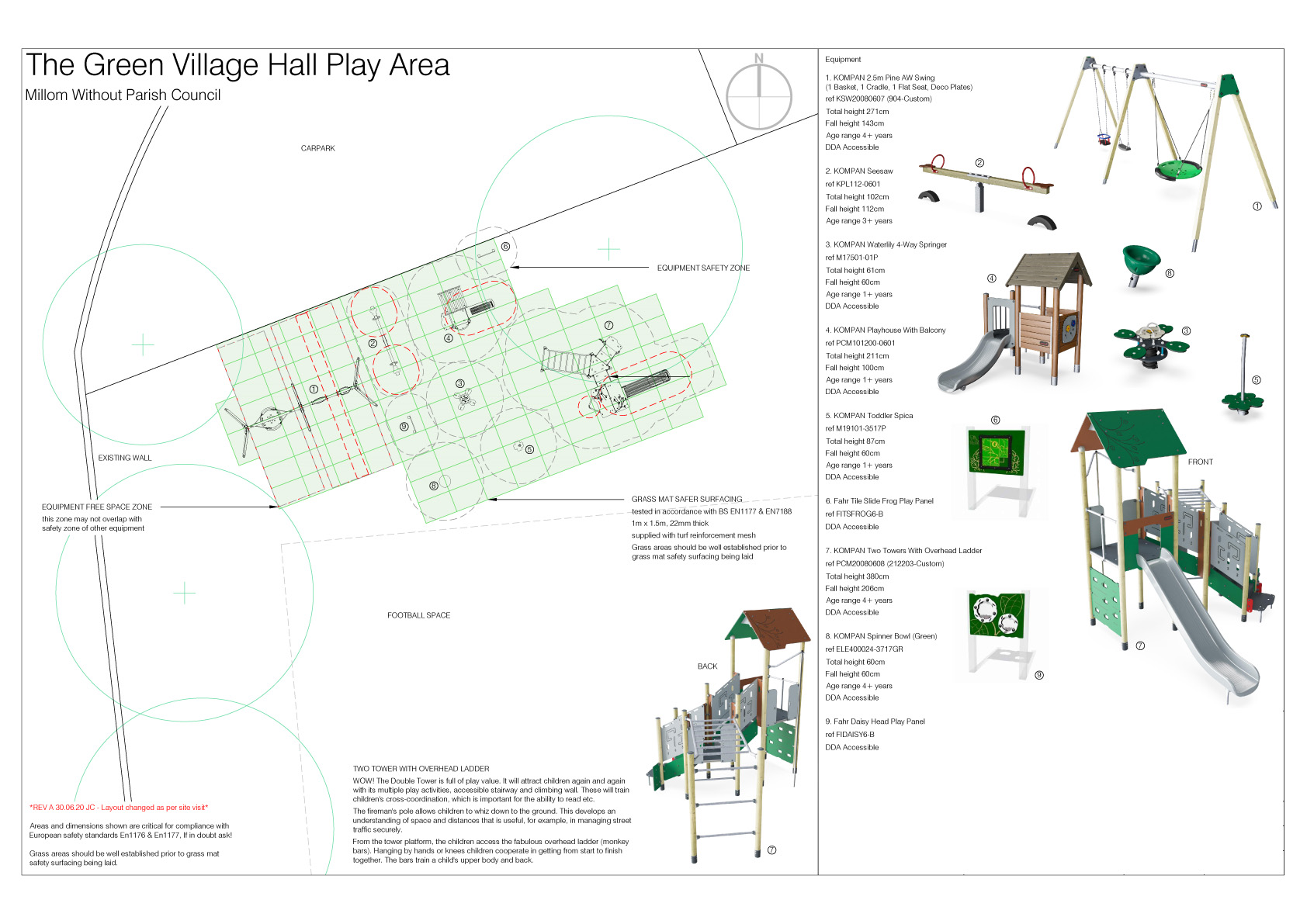 Plan of Play Area