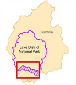 Lake District National Park Southern Boundary Extension Area