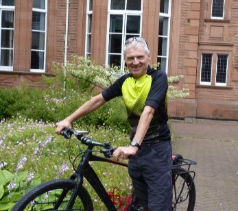 Richard Ingram the Bicycle Mayor of Cumbria