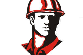 Icon of builders head