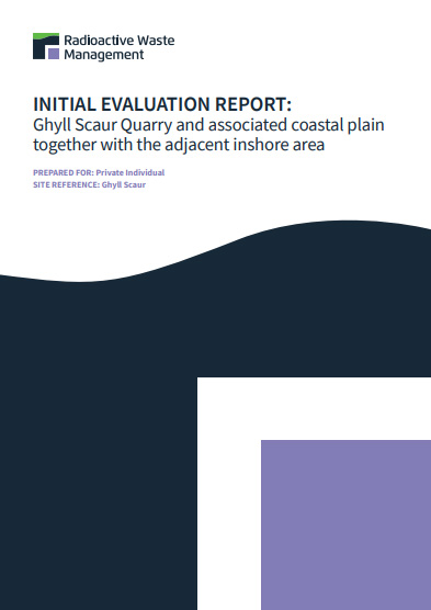 cover of Ghyll Scaur Initial Evaluation Report